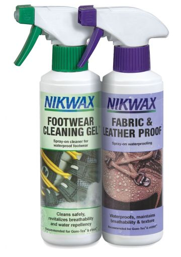 Footwear Cleaning Gel Fabric Leather Proof Twin Pack 300ml (NITPF)